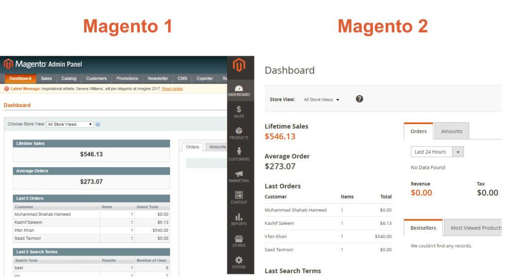 อัปเกรด Magento 1 เป็น Magento 2